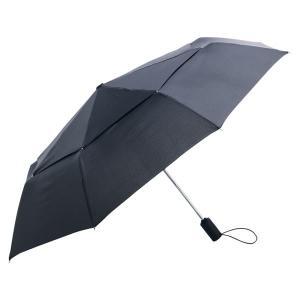 風の強い日でも反り返りにくい自動開閉式の折りたたみ傘  ボタン1つで開閉できる安全構造の自動開閉なの...