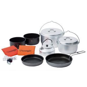 トランギア trangia パーティー クッカーセット 鍋 フライパン プレート 皿