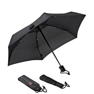 ユーロシルム EuroSCHIRM DANTY オートマチック Black 傘 折りたたみ傘 自動開...