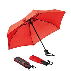 ユーロシルム EuroSCHIRM DANTY オートマチック Red 傘 折りたたみ傘 自動開閉 ...