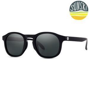 サンスキー SUNSKI Foothills Black/Slate フットヒルズ サングラス アイウェア 偏光|vic2