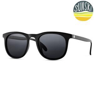 サンスキー SUNSKI Seacliffs Black/Slate シークリフ サングラス アイウェア 偏光|vic2