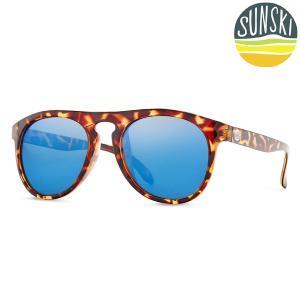 サンスキー SUNSKI Foxtails Tortoise/Aqua フォックステイルズ サングラス アイウェア 偏光|vic2