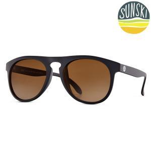 サンスキー SUNSKI Foxtails Black/Amber フォックステイルズ サングラス アイウェア 偏光|vic2