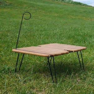 モノラル MONORAL ブリックテーブル テーブル キャンプ アウトドア 折りたたみ 無垢材 木製|vic2
