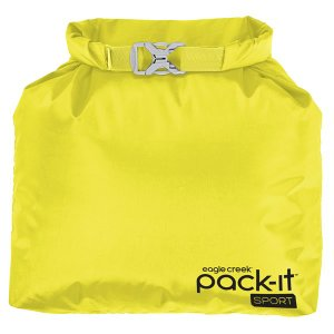 30%OFFセール イーグルクリーク EagleCreek Pack-It Sports Roll Top Sac StrobeYellow パックイットスポーツロールトップサック ケース ポーチ トラベル|vic2