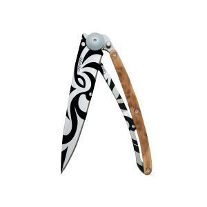 ディージョ deejo tatoos 37g MAORI JUNIPER ナイフ アウトドアナイフ|vic2