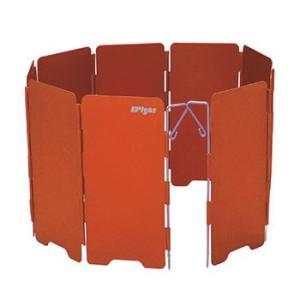 分離型ストーブ用の風防。ペグの刺さる地面に固定できます。   サイズ / 使用時:H140mm×W6...