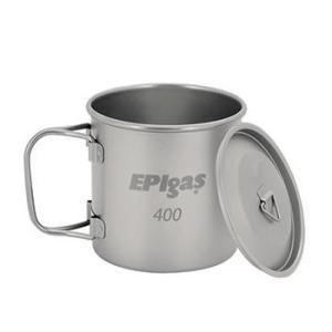 容量400mlのチタンマグカップ。カバー付きなので、保温はもちろん、砂埃の混入も防ぎます。   サイ...