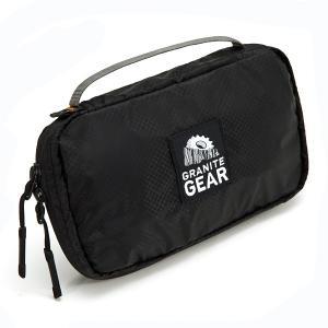 グラナイトギア GRANITE GEAR エアトラベルポーチ ブラック アウトドアポーチ 財布 2017年モデル|vic2