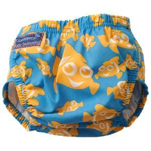 コンフィデンス Konfidence アクアナッピー クラウンフィッシュ 水遊び用ベビーパンツ ワンサイズ 3か月〜3歳頃まで 水着用オムツいらず aquanappy AKKF0030004|vic2