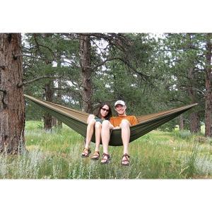 ハンモックブリス Hammock Bliss ハンモックブリス ダブル タン/グリーン ハンモック 寝具 キャンプ 900001|vic2
