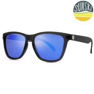 サンスキー SUNSKI Headlands Black/Blue ヘッドランズ サングラス アイウェア 偏光|vic2