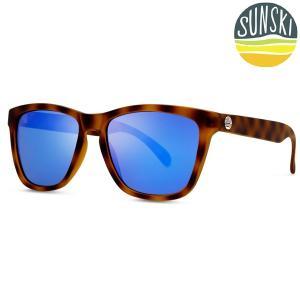 サンスキー SUNSKI Madronas Tortoise/Blue マドロナス サングラス アイウェア 偏光|vic2