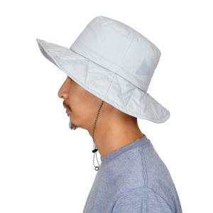 アンドワンダー and wander PERTEX padding hat light gray パーテックスパディングハット 帽子 ユニセックス 2017FW|vic2
