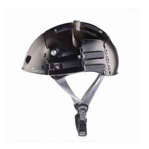 Plixi はユニークな折り畳み機構(特許取得)によって、持ち運びを容易にしたスマートなヘルメットで...