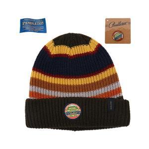 ペンドルトン PENDLETON N-Park Beanie Badlands ナショナルパークビーニー ストライプ 帽子 vic2