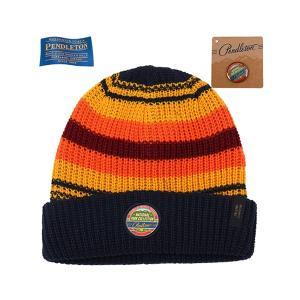 ペンドルトン PENDLETON N-Park Beanie G Canyon ナショナルパークビーニー ストライプ 帽子 vic2