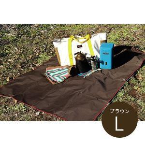 オレゴニアンキャンパー Oregonian Camper WP Ground Sheet Brown Lサイズ|vic2