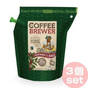 グロワーズカップ GROWER'S CUP ブラジル(FTO) セット(3個セット) コーヒーブリューワー 携帯食 行動食 インスタント|vic2