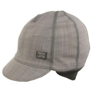 スワーブ SWRVE black label softshell belgian cap heather gray|vic2