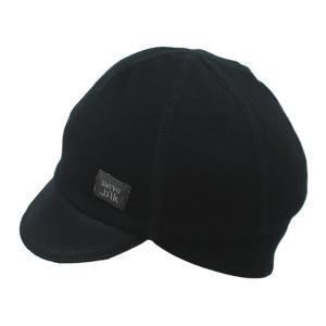 スワーブ SWRVE black label regularweight merino wool belgian cap black|vic2