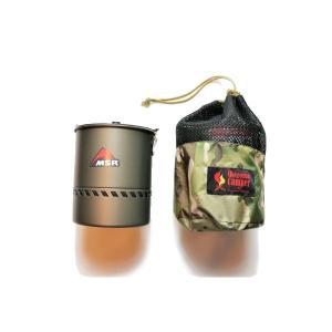 オレゴニアンキャンパー Oregonian Camper クッカーポーチ カモ×ブラック|vic2