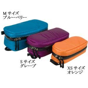 グラナイトギア GRANITE GEAR AIR CELL BLOCK エアセルブロックス XSサイズ オレンジ 収納ケース|vic2