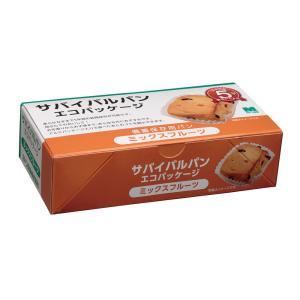 ミドリ安全 サバイバルパン ミックスフルーツ/エコパッケージ|vic2