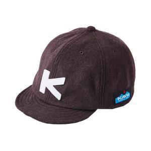 カブー KAVU キッズ ベースボールキャップ(ウール) Brown|vic2