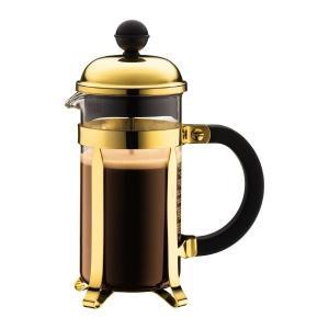 ボダム bodum シャンボール フレンチプレスコーヒーメーカー 0.35L ゴールド|vic2