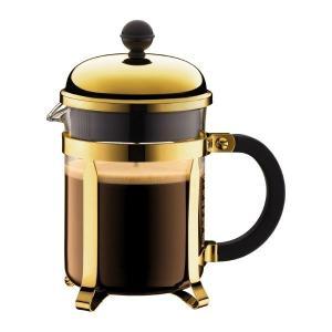 ボダム bodum シャンボール フレンチプレスコーヒーメーカー 0.5L ゴールド|vic2