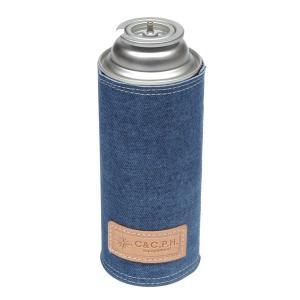 C&C.P.H EQUIPEMENT デニムレザーCB缶CASE BLUE|vic2