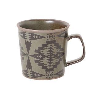 ペンドルトン PENDLETON 土物マグカップ Tucson Brown vic2