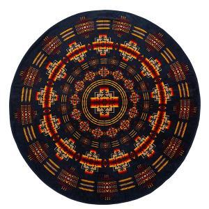 ペンドルトン PENDLETON Printed Round Towel Chief Joseph Indigo vic2