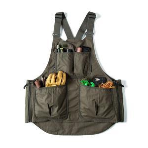 グリップスワニー Grip Swany Fireproof Apron Vest Olive GSV-04 vic2