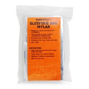 マラタック MARATAC Emergency Sleeping Bag vic2