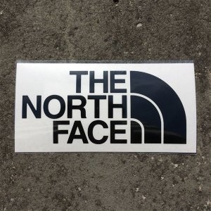 ノースフェイス THE NORTH FACE TNF Cutting Sticker ブラック (K) NN88106|vic2