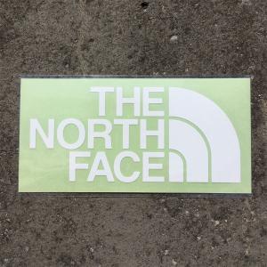 ノースフェイス THE NORTH FACE TNF Cutting Sticker ホワイト (W) NN88106|vic2
