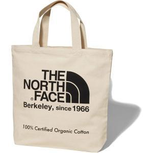 ノースフェイス THE NORTH FACE TNF Organic Cotton Tote ナチュラル × ブラック (K) NM81908|vic2