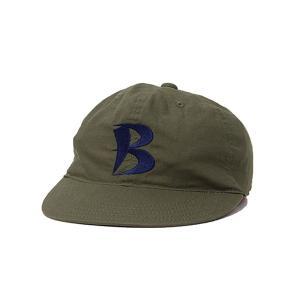 バンブーシュート BAMBOO SHOOTS Ripstop Baseball Cap Olive|vic2