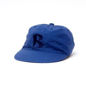 バンブーシュート BAMBOO SHOOTS Ripstop Baseball Cap Navy|vic2