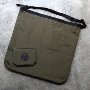 フェアウェザー FAIRWEATHER packable sacoche x-pac/olive|vic2