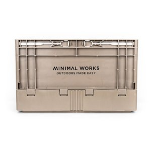 ミニマルワークス MINIMAL WORKS Folding Box S Cocoa|vic2