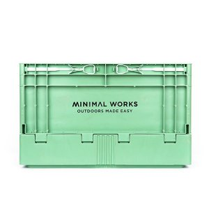 ミニマルワークス MINIMAL WORKS Folding Box S Green Tea|vic2