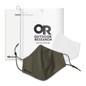 アウトドアリサーチ OUTDOOR RESEARCH Essential Face Mask Kit fatigue [お一人様3個まで]|vic2