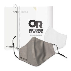 アウトドアリサーチ OUTDOOR RESEARCH Essential Face Mask Kit grey [お一人様3個まで]|vic2