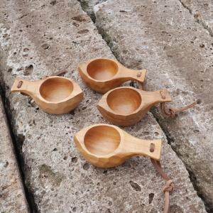 イーグルプロダクツ EAGLE Products Small Wooden cup 4pcs vic2