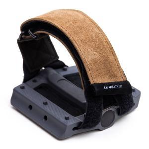 フェアウェザー FAIRWEATHER pedal strap leather/beige vic2