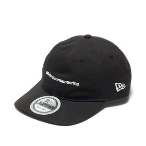 ホワイトマウンテニアリング White Mountaineering WM x NEW ERA CAP 9THIRTY PACKABLE Black|vic2